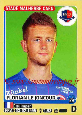 2015-16 - Panini Ligue 1 Stickers - N° 104 - Florian LE JONCOUR (SM Caen)