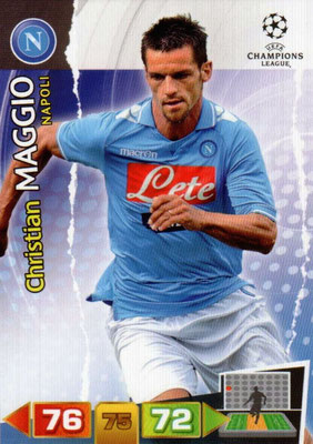 2011-12 - Panini Champions League Cards - N° 177 - Christian MAGGIO (SSC Naples)
