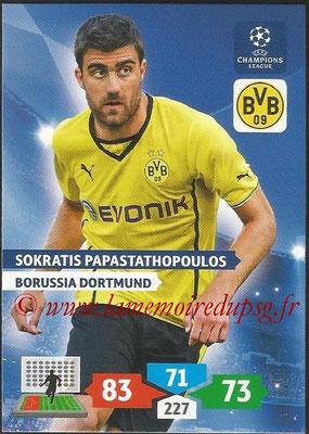2013-14 - Adrenalyn XL champions League N° 103 - Sokratis PAPASTATHOPOULOS (Borussia Dortmund)