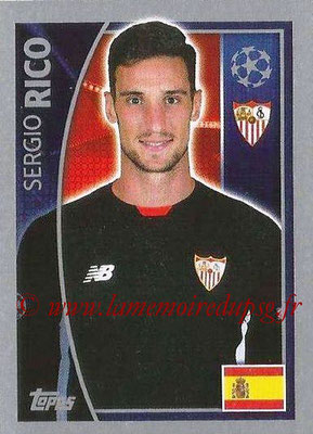 2015-16 - Topps UEFA Champions League Stickers - N° 264 - Sergio RICO (FC Seville)