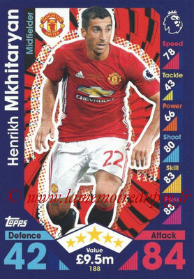 2016-17 - Topps Match Attax Premier League - N° 188