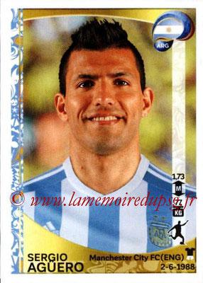 Panini Copa America Centenario USA 2016 Stickers - N° 320 - Sergio AGUERO (Argentine)