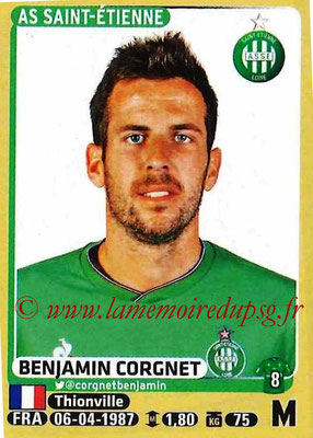 2015-16 - Panini Ligue 1 Stickers - N° 424 - Benjamin CORGNET (AS Saint-Etienne)