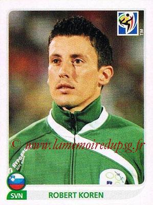 2010 - Panini FIFA World Cup South Africa Stickers - N° 248 - Robert KOREN (Slovenie)