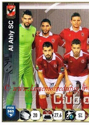 2015-16 - Panini FIFA 365 Stickers - N° 297 - Equipe Al Ahly SC 1