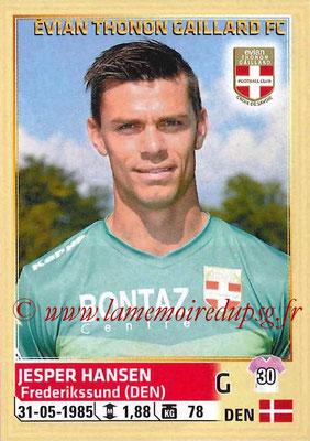 2014-15 - Panini Ligue 1 Stickers - N° 077 - Jesper HANSEN (Evian Thonon Gaillard FC)