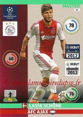 2014-15 - Adrenalyn XL champions League N° 036 - Lasse SCHÖNE (AFC Ajax) (Master)