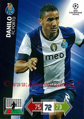 2012-13 - Adrenalyn XL champions League N° 197 - DANILO (FC Porto)