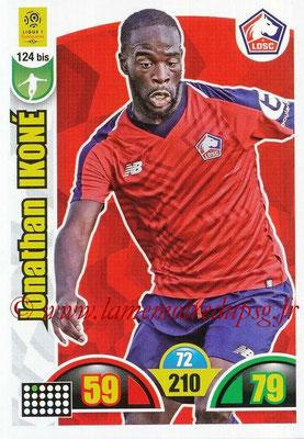 2018-19 - Panini Adrenalyn XL Ligue 1 - N° 124 bis - Jonathan IKONE (Lille)