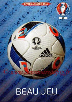 Panini Euro 2016 Cards - N° 012 - Ballon UEFA Euro 2016