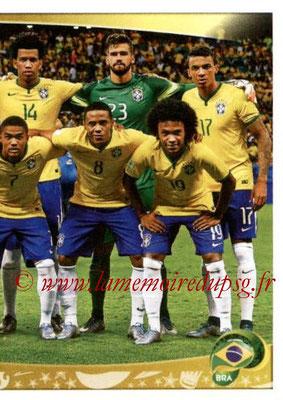 Panini Copa America Centenario USA 2016 Stickers - N° 112 - Equipe Brésil 2