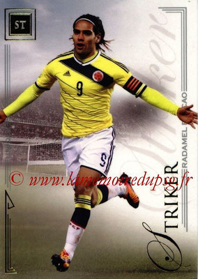 2014 - Futera World Football Unique - N° 071 - Radamel FALCAO (Striker)