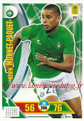 2017-18 - Panini Adrenalyn XL Ligue 1 - N° 297 - Kevin MONNET-PAQUET (Saint-Etienne)