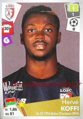 2017-18 - Panini Ligue 1 Stickers - N° 157 - Hervé KOFFI (Lille)