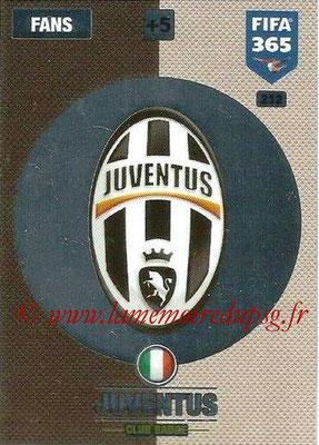 2016-17 - Panini Adrenalyn XL FIFA 365 - N° 212 - Logo Juventus FC