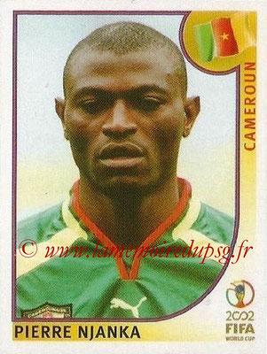 2002 - Panini FIFA World Cup Stickers - N° 370 - Pierre NJANKA (Cameroun)