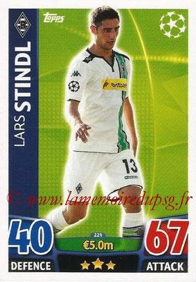 2015-16 - Topps UEFA Champions League Match Attax - N° 229 - Lars STINDL (VfL Borussia Mönchengladbach)