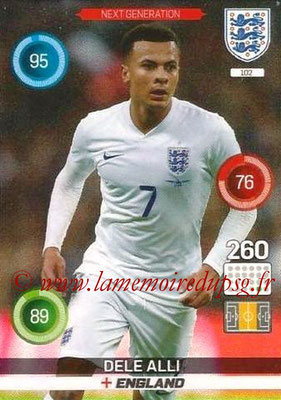 Panini England 2016 Adrenalyn XL - N° 102
