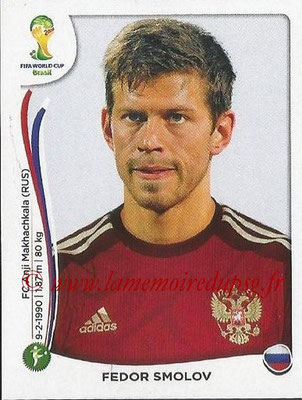 2014 - Panini FIFA World Cup Brazil Stickers - N° 618 - Fedor SMOLOV (Russie)