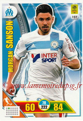 2017-18 - Panini Adrenalyn XL Ligue 1 - N° 152 - Morgan SANSON (Marseille)
