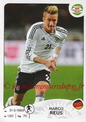 2014 - Panini Road to FIFA World Cup Brazil Stickers - N° 052 - Marco REUS (Allemagne)