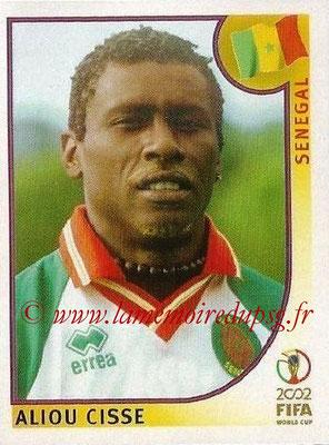 2002 - Panini FIFA World Cup Stickers - N° 047 - Aliou CISSE (Sénégal)