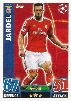 2015-16 - Topps UEFA Champions League Match Attax - N° 184 - JARDEL (SL Benfica)