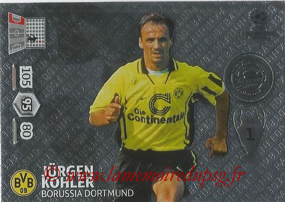 2013-14 - Adrenalyn XL champions League N° 363 - Jürgen KOHLER (Borussia Dortmund) (Legend)