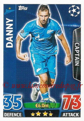 2015-16 - Topps UEFA Champions League Match Attax - N° 264 - DANNY (FC Zenit) (Captain)
