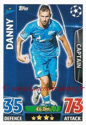 2015-16 - Topps UEFA Champions League Match Attax - N° 264 - DANNY (FC Zenit) (Captain)
