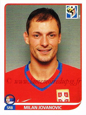 2010 - Panini FIFA World Cup South Africa Stickers - N° 312 - Milan JOVANOVIC (Serbie)