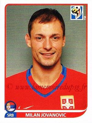 2010 - Panini FIFA World Cup South Africa Stickers - N° 312 - Milan JOVANOVIC (Serbie)