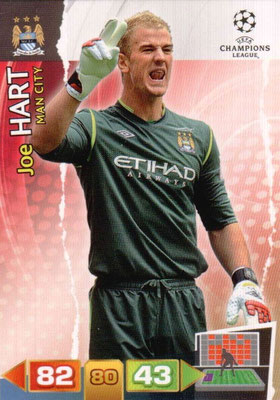 2011-12 - Panini Champions League Cards - N° 131 - Joe HART (Manchester City FC)