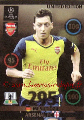 2014-15 - Adrenalyn XL champions League N° LE-MO - Mesut OZIL (Arsenal FC) (Limited Edition)