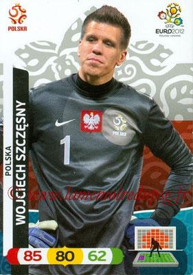 Panini Euro 2012 Cards Adrenalyn XL - N° 151 - Wojciech SZCZESNY (Pologne)