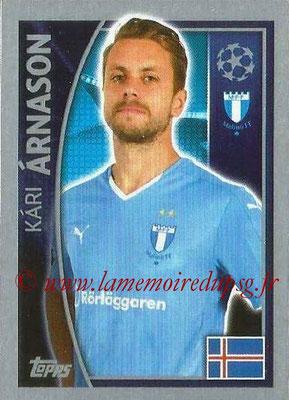 2015-16 - Topps UEFA Champions League Stickers - N° 066 - Kàri ÀRNASON (Malmö FF)