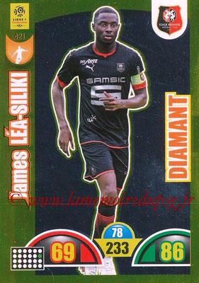 2018-19 - Panini Adrenalyn XL Ligue 1 - N° 421 - James LEA-SILIKI (Rennes) (Diamant)