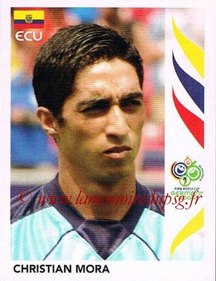2006 - Panini FIFA World Cup Germany Stickers - N° 076 - Christian MORA (Equateur)
