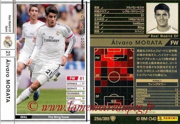2013-14 - WCCF - N° 256 - Alvaro MORATA (Real Madrid CF)