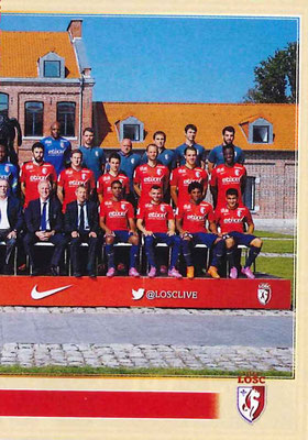2014-15 - Panini Ligue 1 Stickers - N° 147 - Equipe Lille OSC