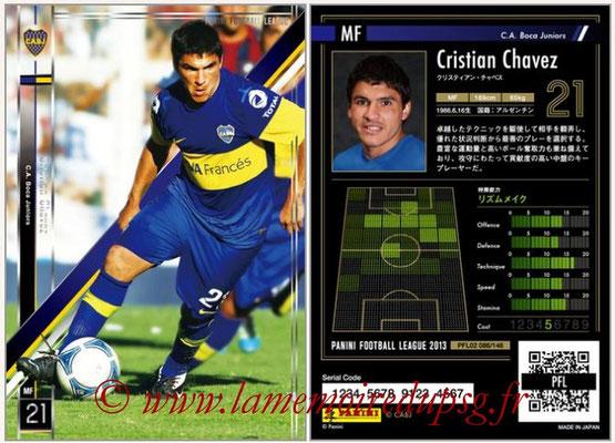 Panini Football League 2013 - PFL02 - N° 086 - Cristian Chavez ( C.A. Boca Juniors )