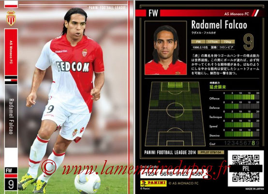 Panini Football League 2014 - PFL07 - N° 079 - Radamel FALCAO (AS Monaco)