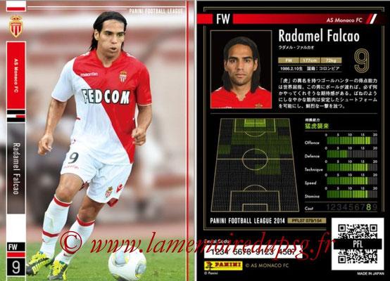 Panini Football League 2014 - PFL07 - N° 079 - Radamel FALCAO (AS Monaco)