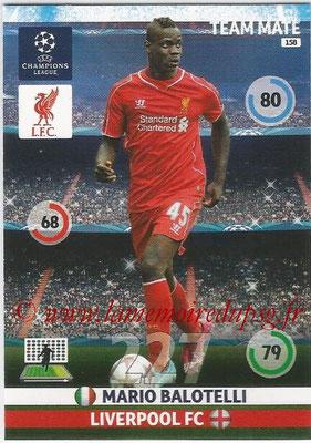 2014-15 - Adrenalyn XL champions League N° 158 - Mario BALOTELLI (Liverpool FC)