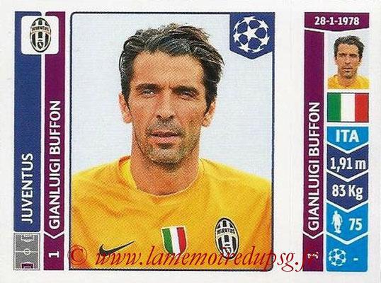 2014-15 - Panini Champions League N° 055 - Gianluigi BUFFON (Juventus Turin)