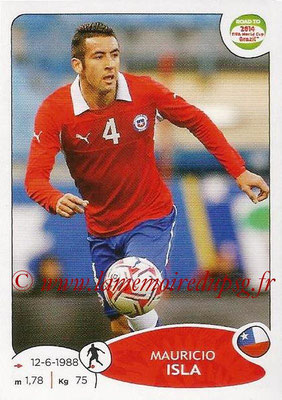 2014 - Panini Road to FIFA World Cup Brazil Stickers - N° 166 - Mauricio ISLA (Chili)