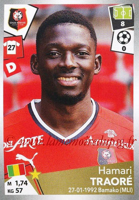 2017-18 - Panini Ligue 1 Stickers - N° 398 - Hamari TRAORE (Rennes)