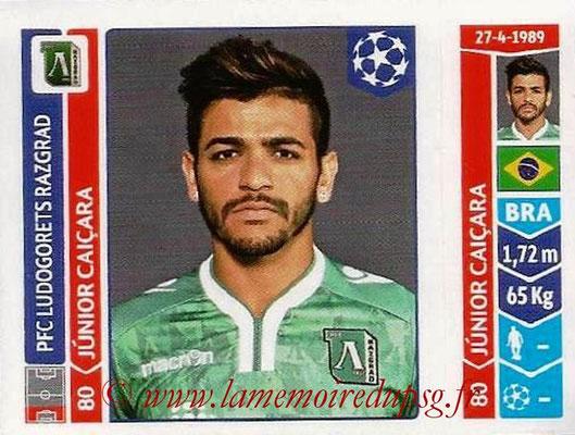 2014-15 - Panini Champions League N° 164 - Junior CAICARA (Ludogorets Razgrad)