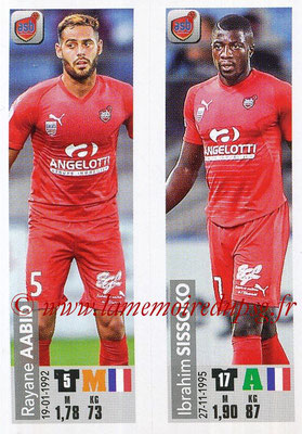 2018-19 - Panini Ligue 1 Stickers - N° 522 - Rayance AABID + Ibrahim SISSOKO (AS Beziers)