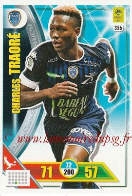 2017-18 - Panini Adrenalyn XL Ligue 1 - N° 356 - Charles TRAORE (Troyes)